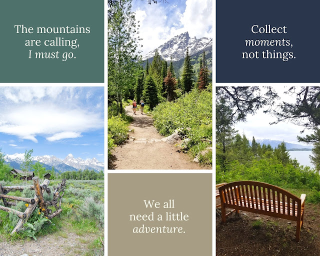 grand teton mountains and trails