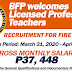 BFP hires Board Passer Teachers