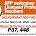 BFP hires Board Passer Teachers