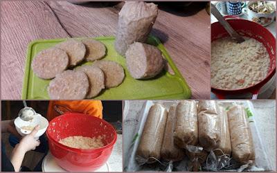 ziemniaki, kartofle, kasza jęczmienna, sól, ciszki
