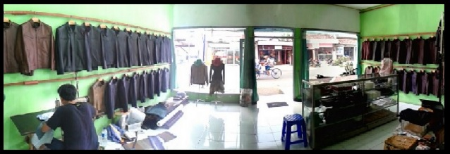 Gambar Showroom & Workshop Jaket Kulit