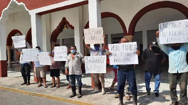 Campesino denuncia que pretenden despojarlo de sus tierras de Sembrando Vida