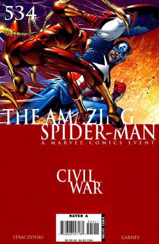 Civil War: Amazing Spider-Man #534 PDF