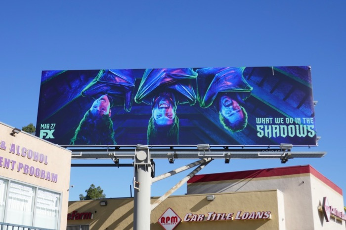 What We Do In Shadows season 1 billboard