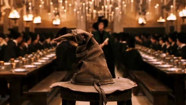 Chapéu Seletor em Hogwarts