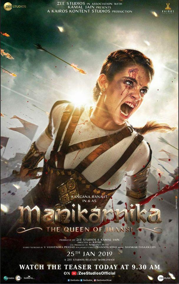 Manikarnika: The Queen of Jhansi (2019) Hindi 720p HDRip 1GB Download
