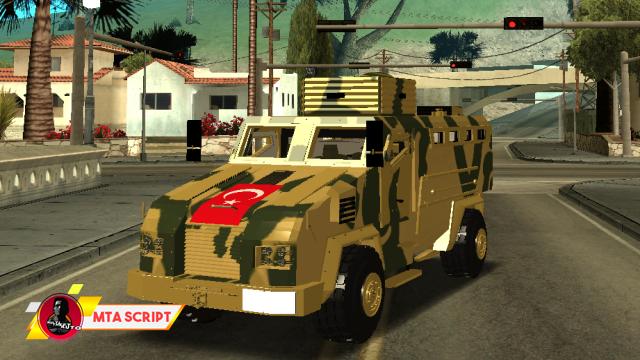 MTA:SA BMC Kirpi Askeri Araç Scripti