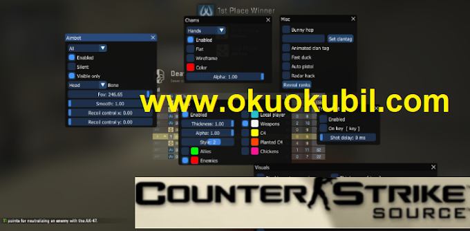 Counter Strike Kesme Menusu Osırıs Multıhack Wallhack (ESP) Hilesi İndir 2020