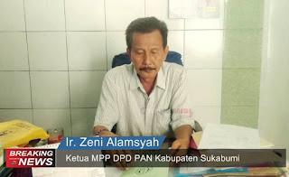 Ketua MPP DPD PAN Kabupaten Sukabumi