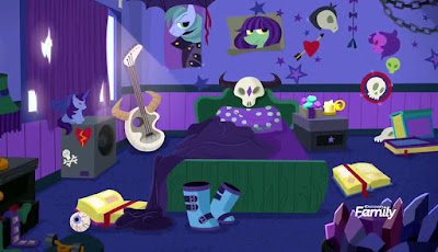 Starlight's rather metal teenage bedroom