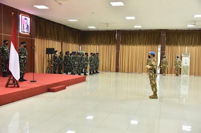 Panglima TNI : Kontingen Garuda Mampu Laksanakan Mandat Dewan Keamanan PBB Dengan Baik