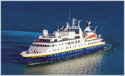 Lindblad / National Geographic Expeditions' National Geographic Orion Experiences Engine Issues.