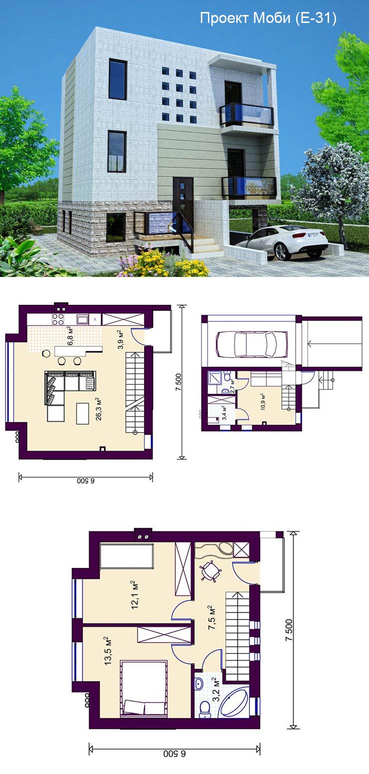 Строительство домов под ключ проекты
