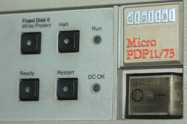 SANYALnet Labs: Supratim Sanyal's Hobbyist PDP-11/73 Micro PDP-11 running RSTS/E Operating System with DECnet/E networking