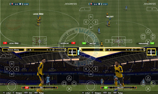 Pes jogress v2 2017 ISO PPSSPP update