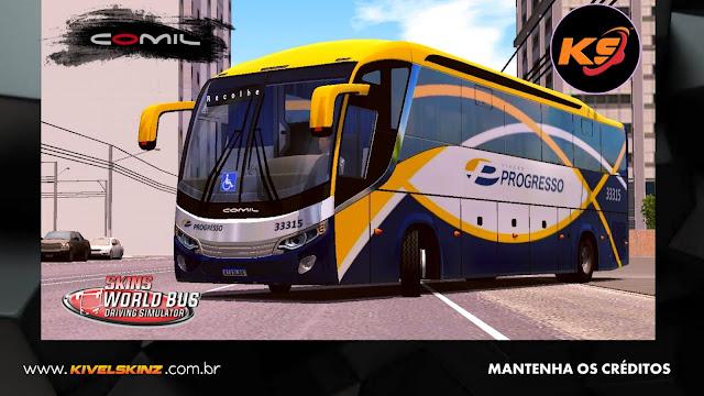 COMIL 1200 4X2 - VIAÇÃO PROGRESSO TRÊS RIOS