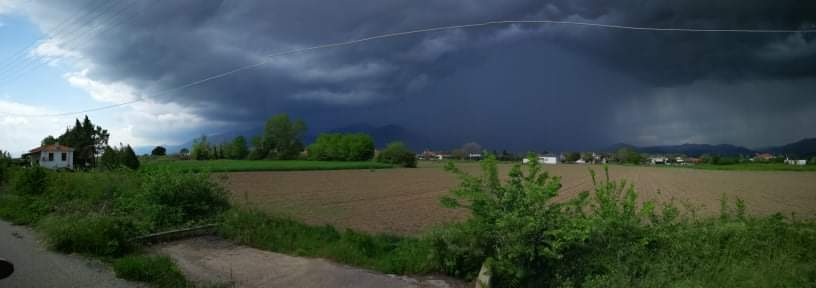 Ισχυρή καταιγίδα και χαλάζι στην Ξάνθη - ΒΙΝΤΕΟ