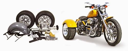American Motorcycle Design: Frankenstein Trikes