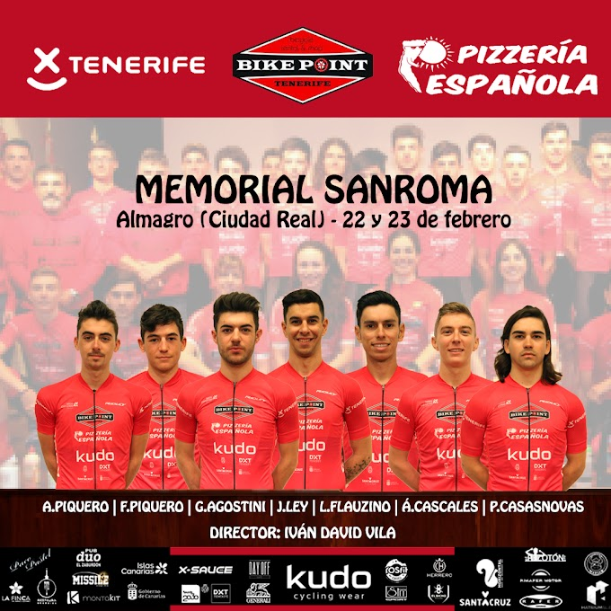El Tenerife BikePoint Pizzería Española correrá el Memorial Sanroma y el Memorial Juan Carlos Vicario