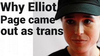 Elliot page comes out as transgender