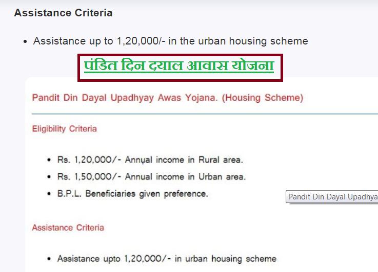 Pandit Din Dayal Yojana full Detail in Hindi