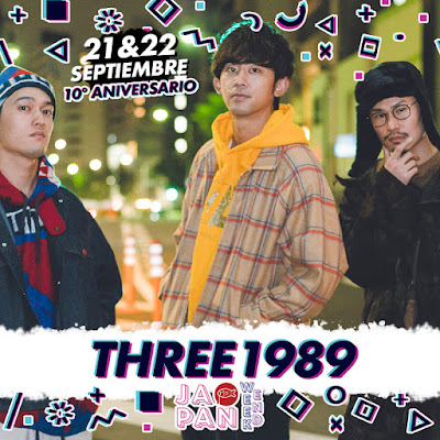 El city pop llega a Japan Weekend Madrid con THREE1989