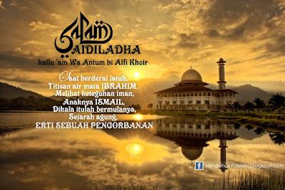 Ucapan Selamat Menyambut Aidiladha 1440H Kepada Muslimin Dan Muslimat Di Seluruh Dunia