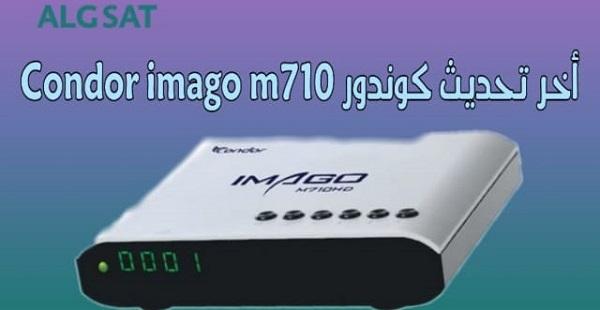 أخر تحديث جهاز كوندور Condor imago m710  محدث باستمرار 2020