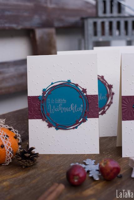 Avery Die, CAS Christmas Card, Weihnachten , Karten
