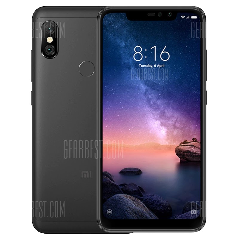 Xiaomi Redmi Note 6 Pro 4G Phablet Global Version 3GB RAM Latest Coupon