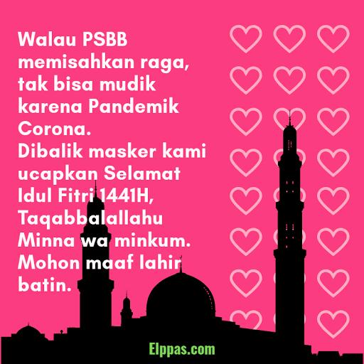 Ucapan Selamat Hari Raya Idul Fitri 2020/1441H Edisi
