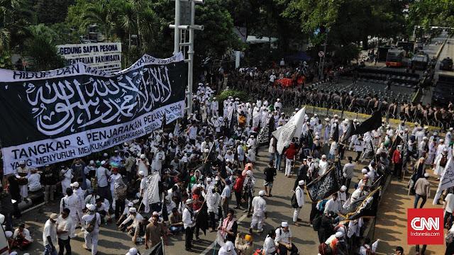 Sindir Kasus Habib Rizieq, Banser Tantang Aksi Bela Tauhid di Saudi