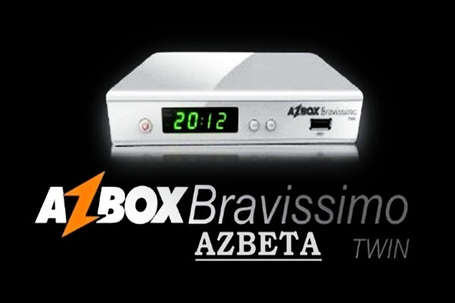 Azbox Bravíssimo Twin Transformado em AZBETA RETORNO 58W 61W 87W 107W IKS OFF - 19/05/2018