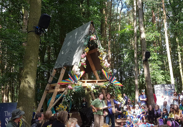 Ian Douglas Gary Bridgens Spellbound Forest Just So Festival 2019 Sunday afternoon