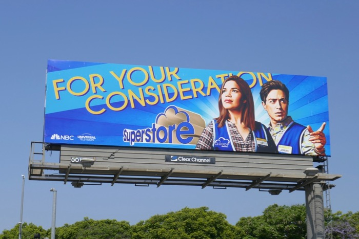 Superstore season 4 Emmy consideration billboard