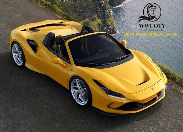 MELHOR CARRO ESPORTIVO - Ferrari F8 Spider
