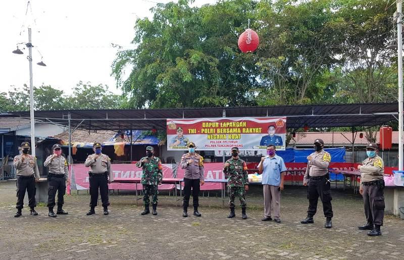 Dapur Lapangan Polres Tanjungpinang Hadir untuk Masyarakat
