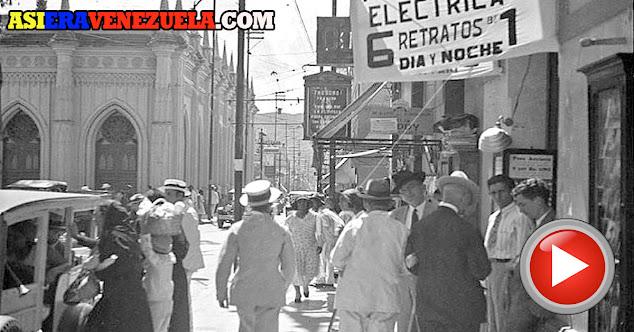 Caracas en el año 1930 como nunca la habías visto