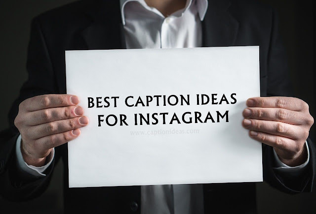 Caption Ideas