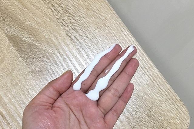 sunscreen dua jari