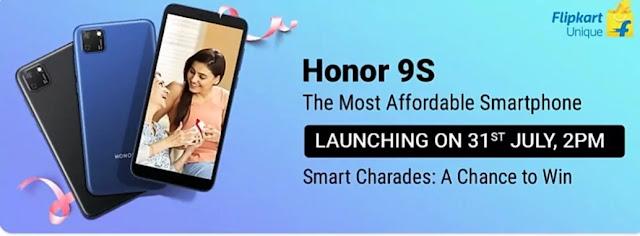 Flipkart Honor 9s Quiz