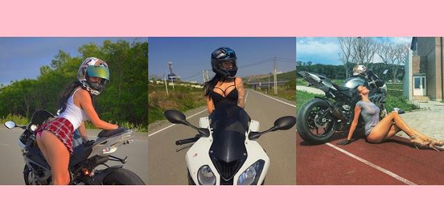 Biker Cantik Berbodi Bohay dan Hobi Pakai Baju Minim, Tewas Mengerikan