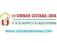 Loker Semarang, Tegal dan Jogja di CV Sinnar Luciana Jaya