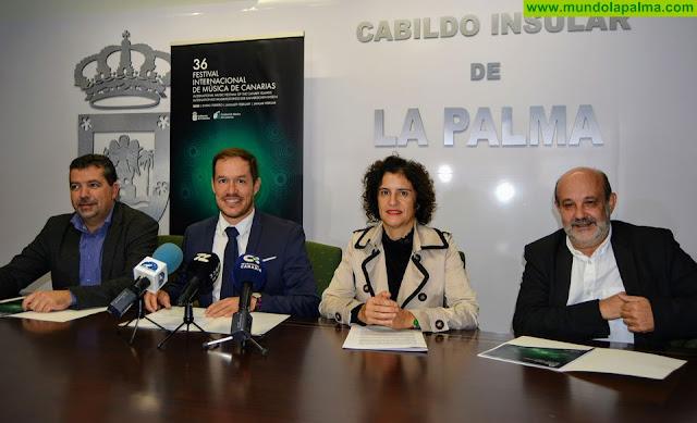 El 36 Festival de Música de Canarias programa cinco conciertos en La Palma