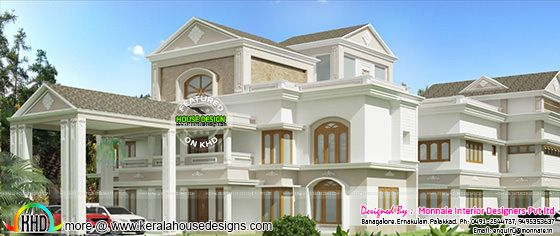 Royal home luxurious style