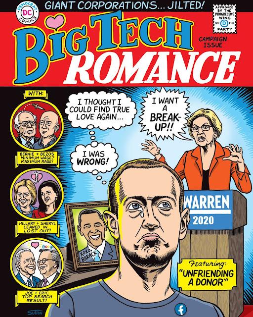 Big Tech Divorce from Democrats
