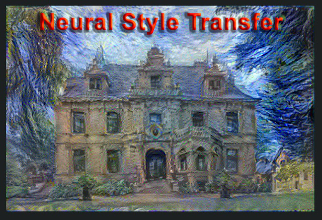 تقنية نقل النمط (Neural Style Transfer)