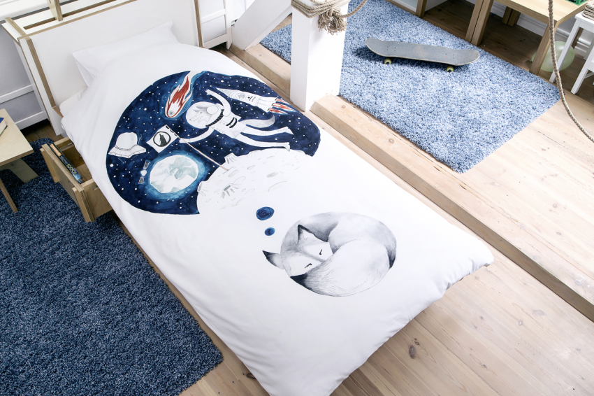 Big Wolf Polish Design Bedding.