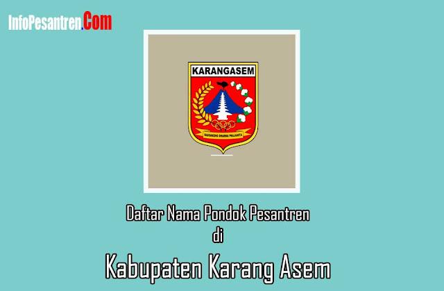 Pondok Pesantren di Kabupaten Karang Asem