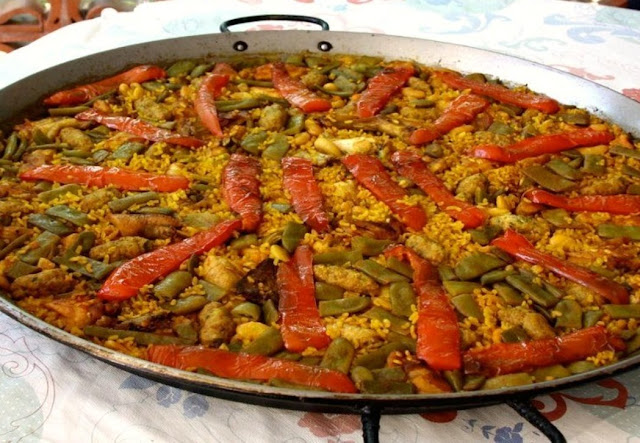 Arroz con verduras (arroz with vegetables)